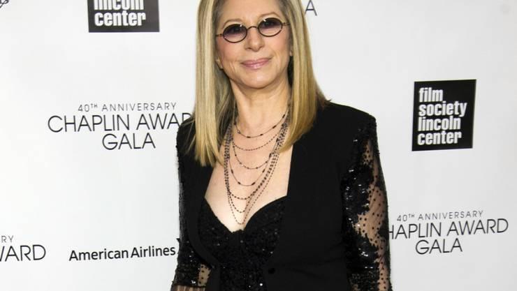 Ihre Hündin ersetzte ihr die fehlende Tochter: Sängerin Barbra Streisand trauert um Haustier Samantha. (Archiv)