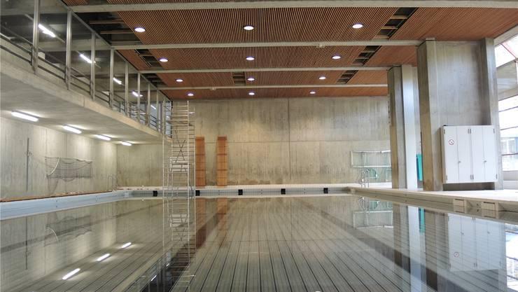 Das Hallenbad Pfaffechappe bleibt noch etwa vier Wochen wegen Mängeln an der Deckenverkleidung geschlossen.STH