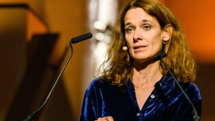 In Italien längst auf den Bestsellerlisten: Die Römerin Francesca Melandri in Krems.