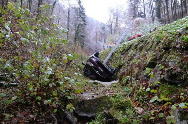 Die Fahrerin hatte die Kontrolle über das Fahrzeug verloren.