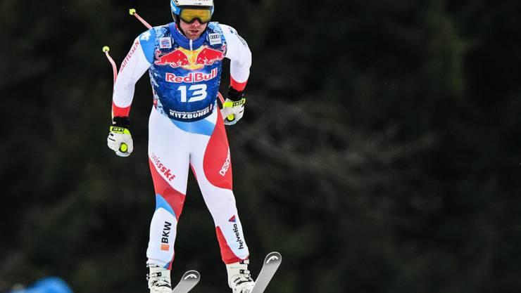 Beat Feuz ärgerte sich im Training über die Bedingungen in Kitzbühel