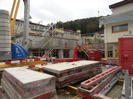 Baustelle Schulhaus Münchwilen