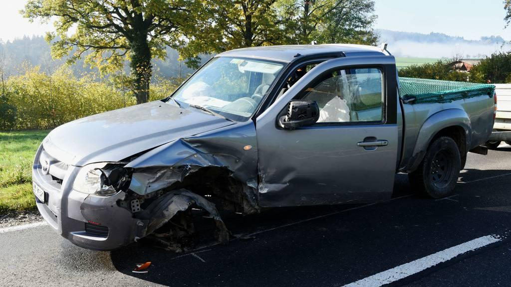 Ruswil: Verkehrsunfall ohne Verletzte