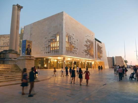 Stararchitekt Renzo Piano führt die Bastion Valletta in die Moderne.