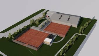 Tennishalle Frick
