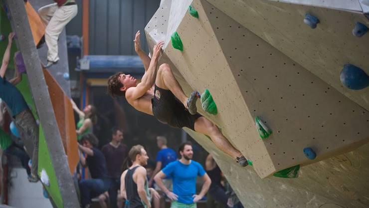 In Pratteln finden am Samstag die 4. Boulder Schweizermeisterschaften statt.