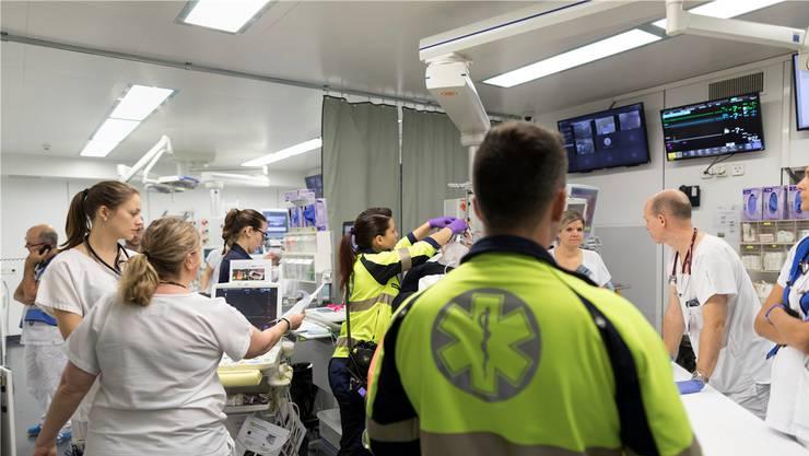 Zurzeit werden 149 Patientinnen und Patienten im Spital behandelt. (Archivbild)
