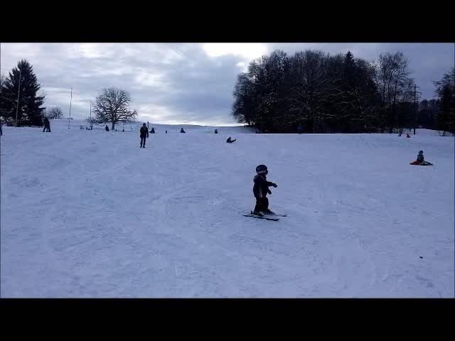 Die Skilift-Saison in Dietikon ist eröffnet.