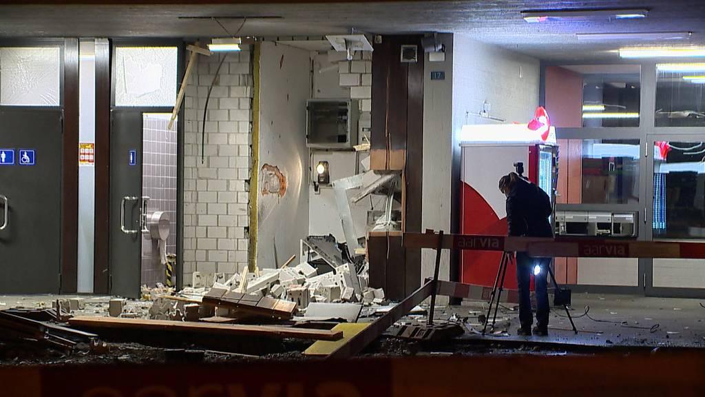 Bankomat am Bahnhof Killwangen-Spreitenbach gesprengt