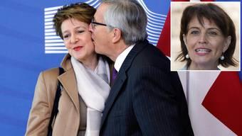 Jean-Claude Junckers Begrüssungsküsse
