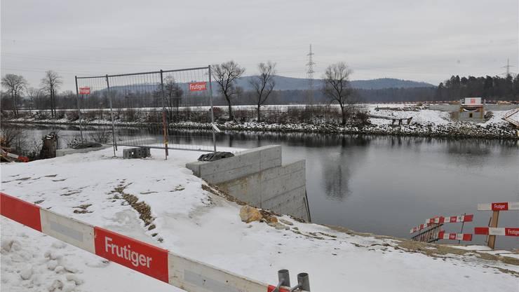 Bis im Herbst dieses Jahres passiert auf der Baustelle der Safnernbrücke nicht mehr viel.