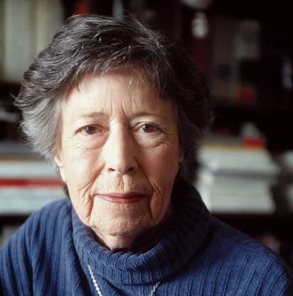 Yvette Z'Graggen (31. März 1920 – 16. April 2012): «Das Schreiben ist eine Möglichkeit, die anderen Leben zu leben.»