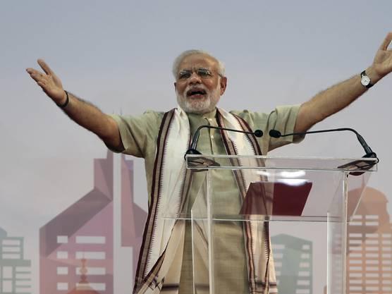 Indiens Regierungschef Narendra Modi.
