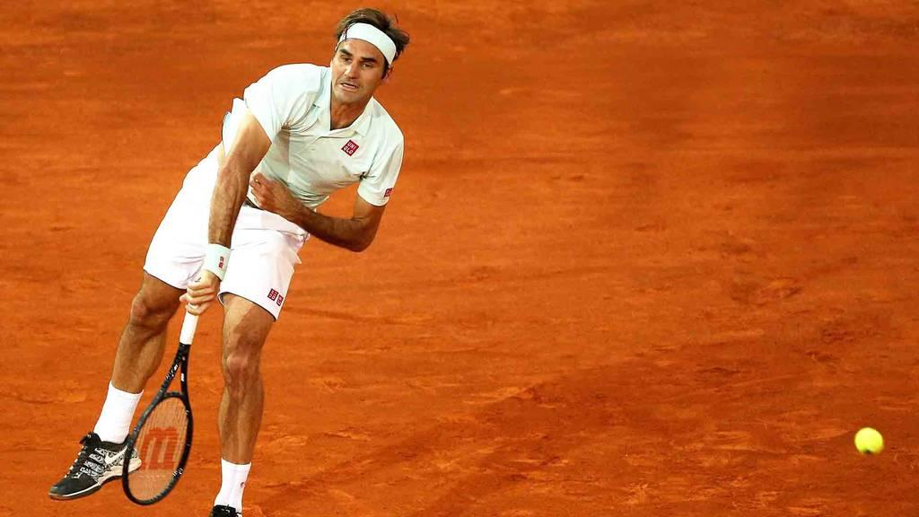 Federer gewinnt Auftaktspiel in Rom