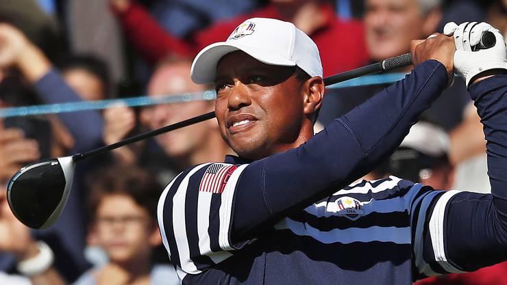 In alter Stärke eine Teamstütze für die USA am Ryder Cup: Tiger Woods