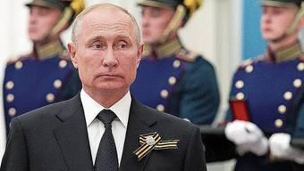 Meister der Vertuschung: Präsident Wladimir Putin.