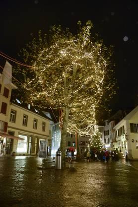 Weihnachtsbeleuchtung 2019 in der Altstadt Solothurn