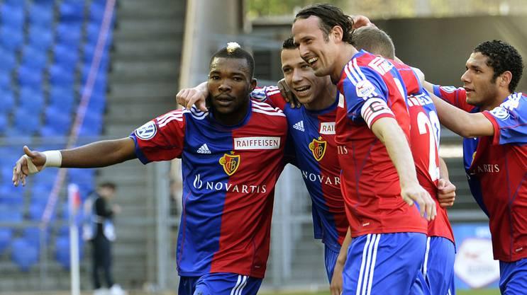 Marco Streller eint seine Mannschaft als Captain.