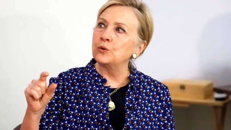 """Die ehemalige amerikanische Aussenministerin Hillary Clinton wird am Montag an der Berlinale erwartet. Sie soll die vierteilige Dokuserie """"Hillary"""" der Filmemacherin Nanette Burstein vorstellen."""