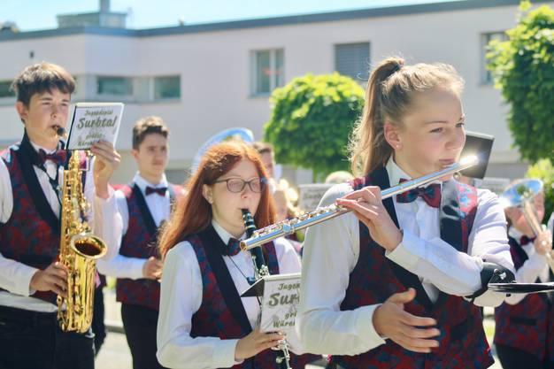 Musiktag in Würenlingen.
