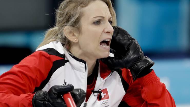 Skip Silvana Tirinzoni befehligt ihre Curlerinnen