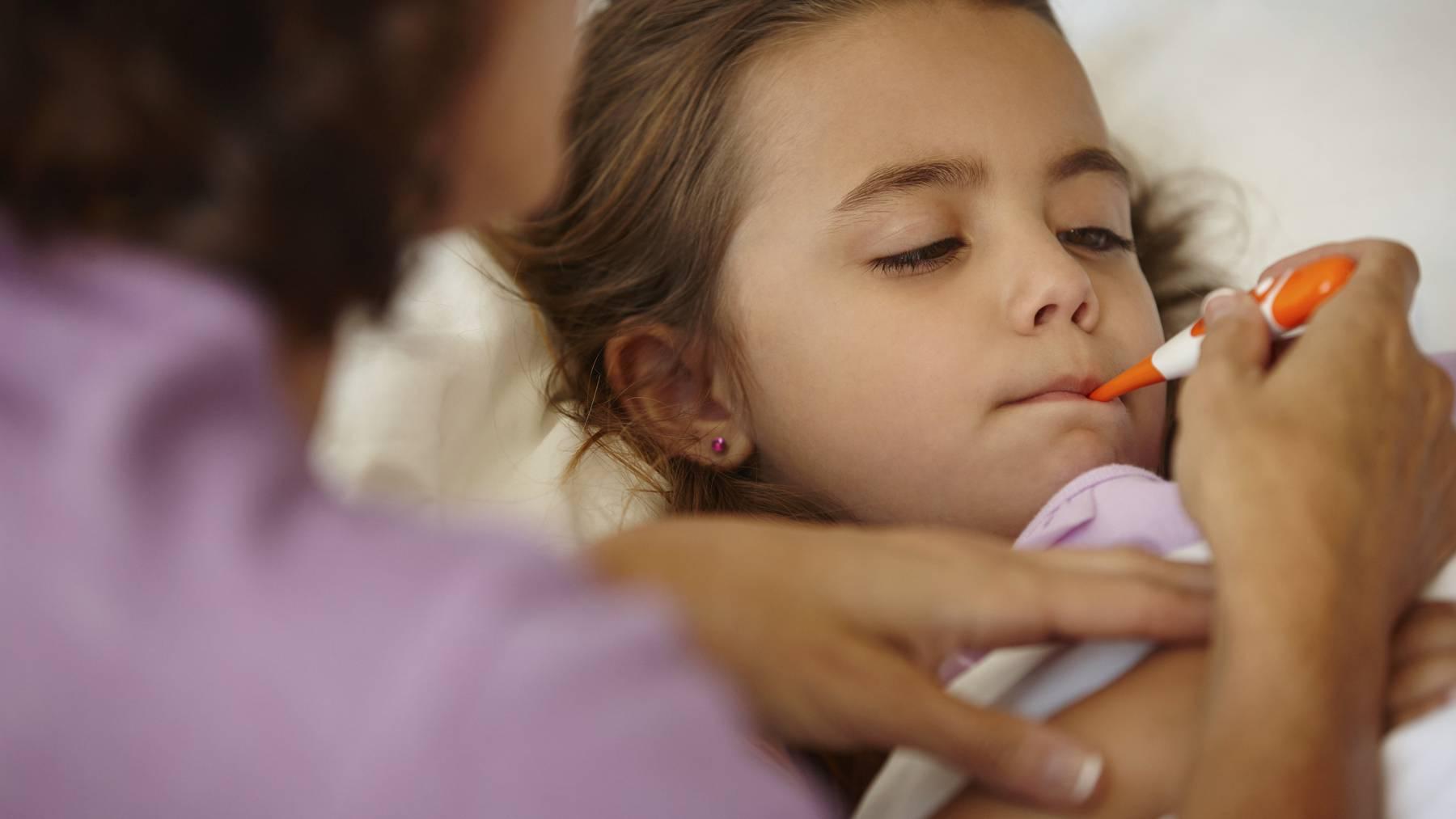 Vor allem Kinder sind von der aktuellen Grippewelle betroffen.