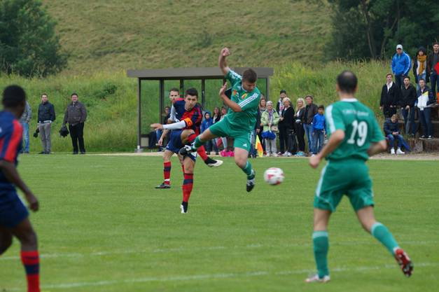 Das 1:0. Marko Filipovic' trockener Schuss zum ersten Tor des Spiels.