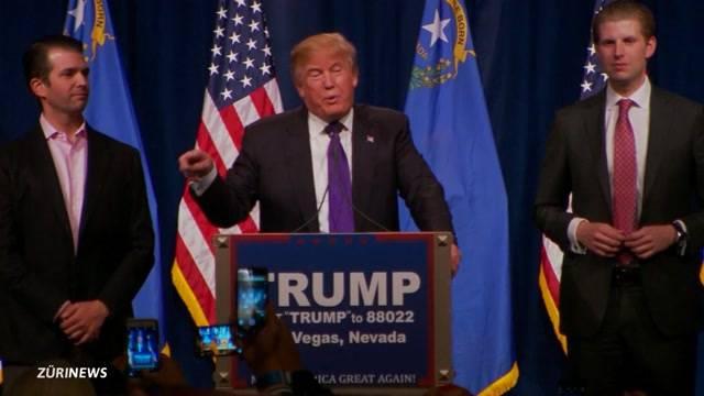 Wird Trump US-Präsident?