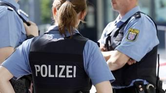 Polizisten des Bundeslandes Hessen (Symbolbild)
