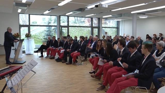Berner Delegation der WorldSkills werden empfangen