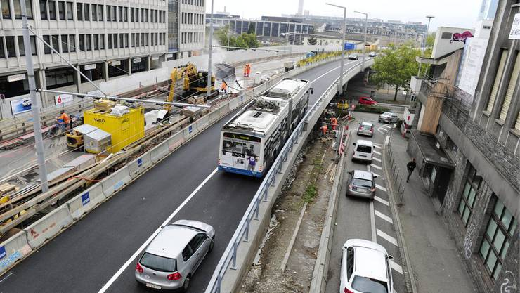 Der Kantonsrat stellt sich klar hinter das Hardbrücke-Tram (Symbolbild).