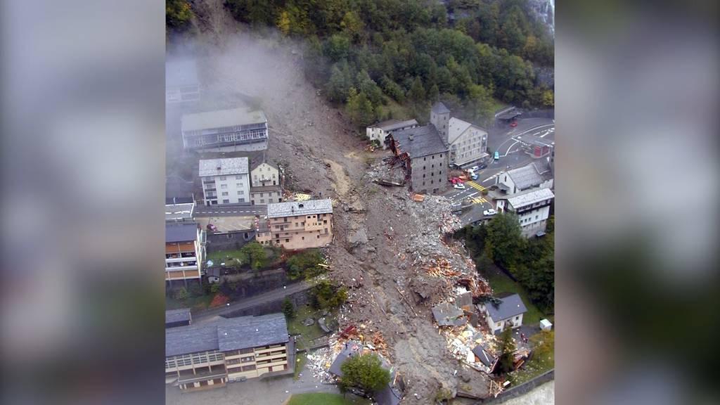 Tragödie vor 20 Jahren: Der Bergsturz in Gondo