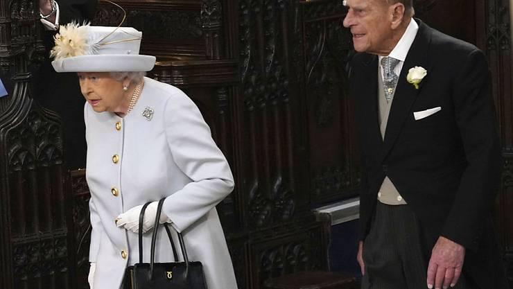 Sagenhafte 71 Jahre sind Queen Elizabeth und Prinz Philip verheiratet. (Archivbild)