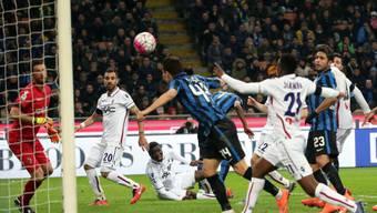 Ivan Perisic erzielt das Führungstor für Inter Mailand