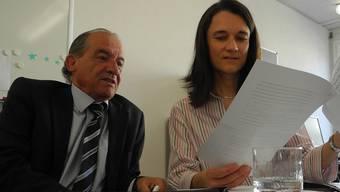 Enrico Denicolà und Christa Maag haben während ihrer Ausbildung verschiedene Elemente der Mediation kennen gelernt.