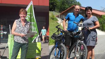 Wie betreiben Barbara Wyss Flückiger und Marianne Meister Wahlkampf?