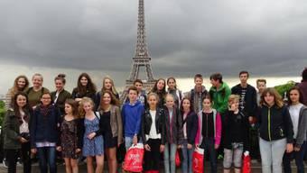 Ein Junge aus der Gruppe liess seinen Rucksack auf dem Eiffelturm liegen – und sorgte damit für ein riesiges Sicherheitsaufgebot.