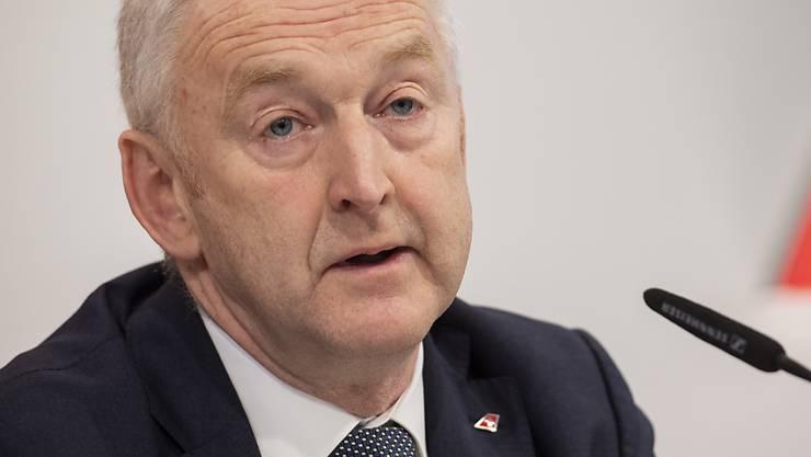 Tritt ab: Swiss-CEO Thomas Klühr. (Archivbild)