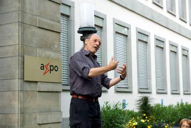 Leo Scherer, Anti-Atom-Aktivist der ersten Stunde erzählt, wie an der Parkstrasse die Farbbeutel flogen.