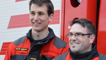 Kommando-Wechsel bei der Feuerwehr Villnachern