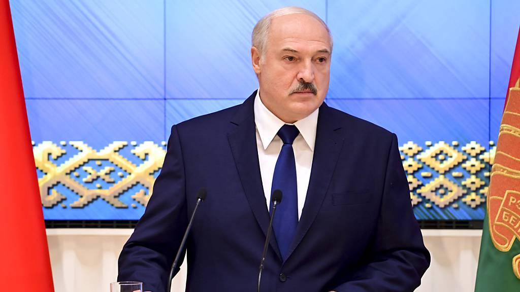 Belarus macht die Grenze zu Litauen und Polen dicht