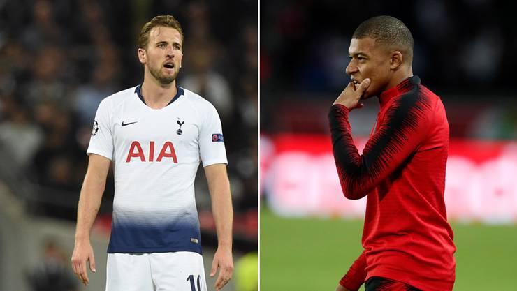 Sind die Topstars Harry Kane und Kylian Mbappé im Achtelfinal der Champions League noch mit dabei?