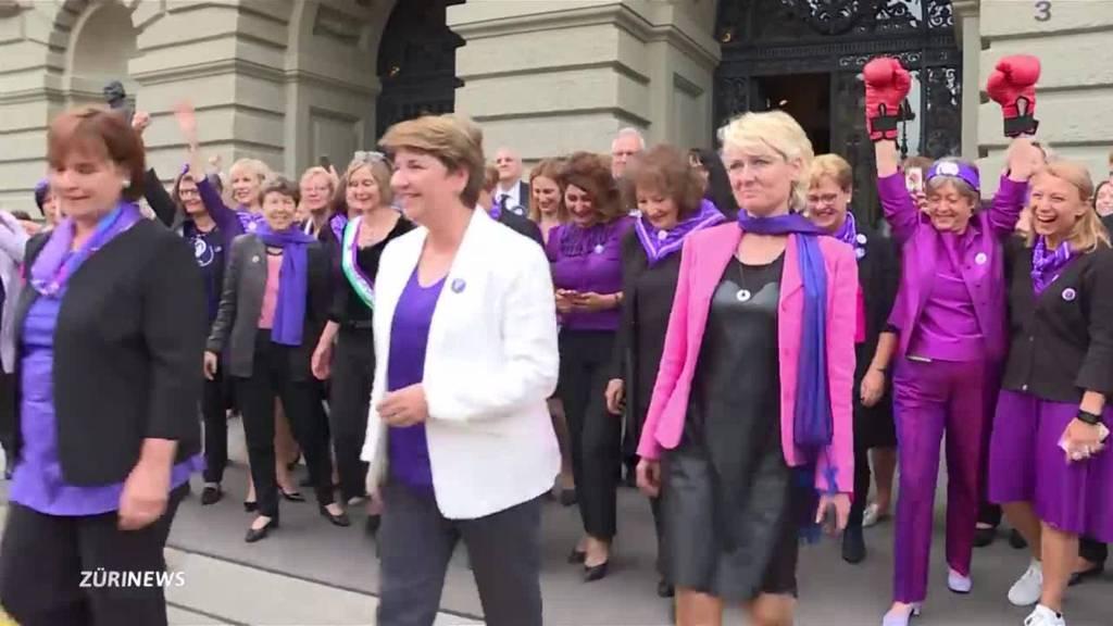 Session für Frauenstreik unterbrochen