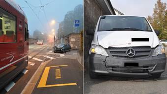 Zwei Unfälle zwischen Fahrzeugen und Bipperlisi am selben Ort, am selben Tag