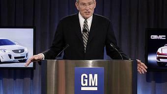 General-Motors-Chef Ed Whitacre