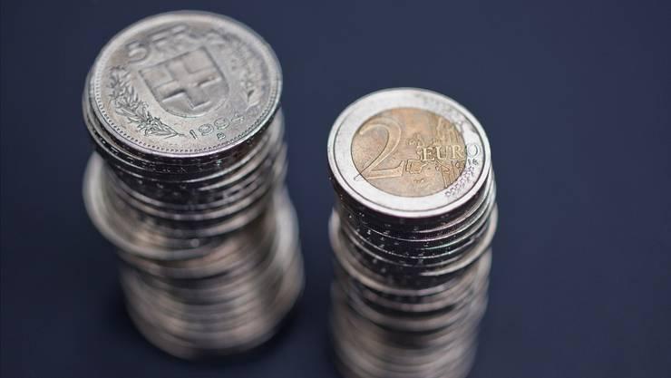 Der Einfluss des Wechselkurses auf die Schweizer Wirtschaft war früher grösser.