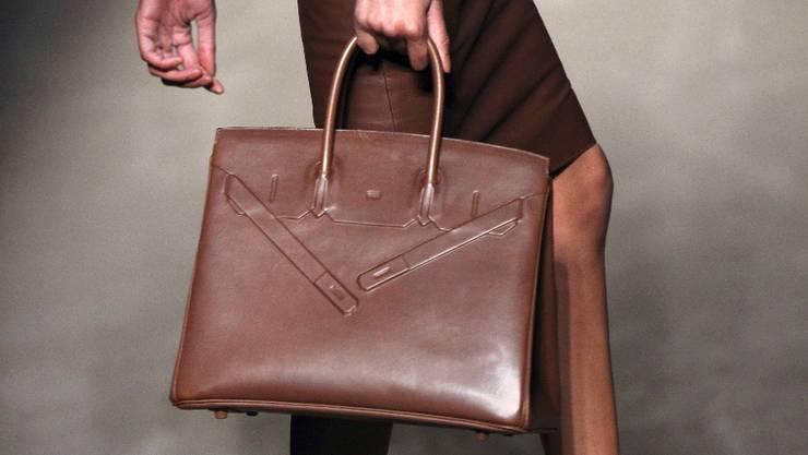 Die Handtaschen von Hermès (hier die jüngste Kollektion von Jean Paul Gaultier) sind begehrt.