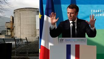 Das AKW Fessenheim wird laut Emmanuel Macrons Versprechen im Sommer 2020 geschlossen.