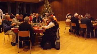 Gemeinsame Feier am Heiligabend in Frick. – Foto: pst