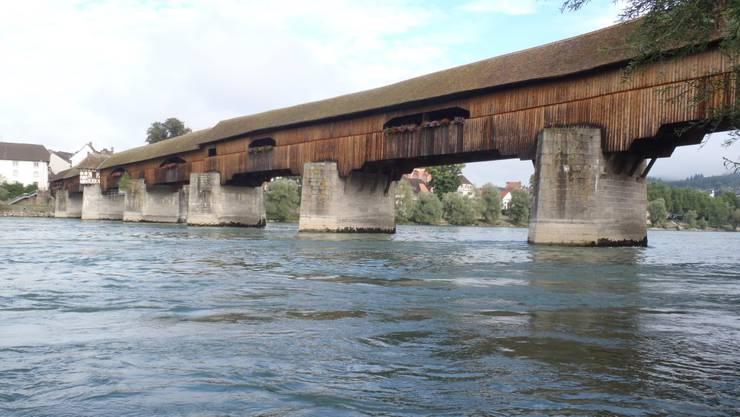 Holzbrücke Bad Säckingen-Stein